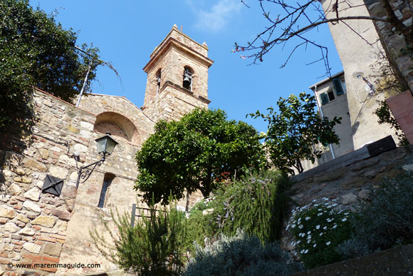 Romantic places Tuscany Italy