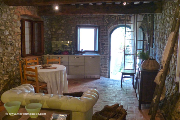 Romantic Tuscany accommodation Italy