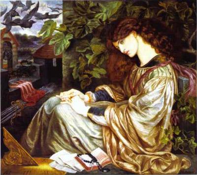 Pia de Tolomei by Dante-Gabriel Rossetti