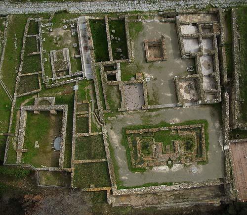 Parco Archeologico di Roselle: Rusellae Domus dei Moasaici
