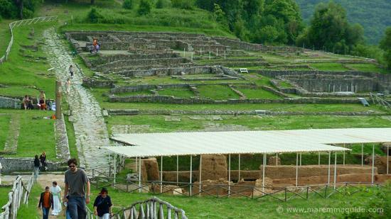 Rusellae: Roselle Archaeological Park, Maremma Tuscany