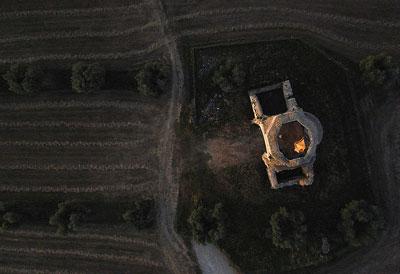 San Bruzio monastery Magliano in Toscana Tuscany Italy