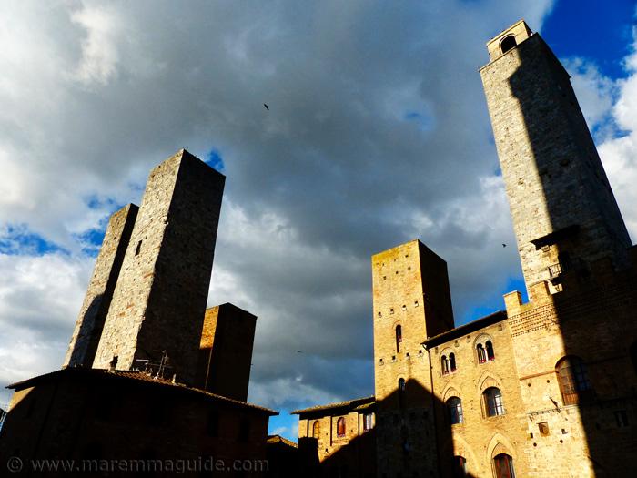 San Gimignano towers.