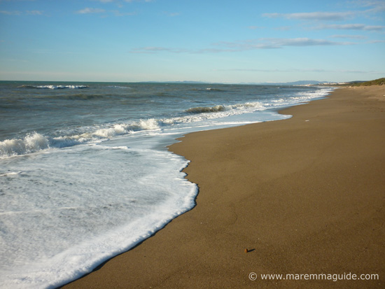 San Vincenzo beach Tuscany