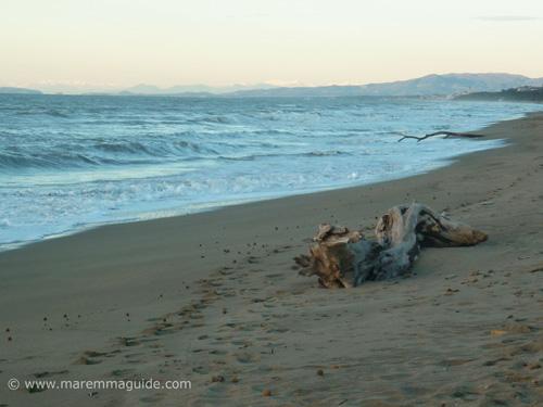 San Vincenzo Tuscany Spiaggia Rimgliano: a Costa degli Etruschi beach in the Parco Costiero di Rimigliano