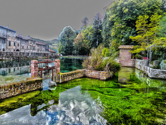 La Peschiera Santa Fiora Tuscany.