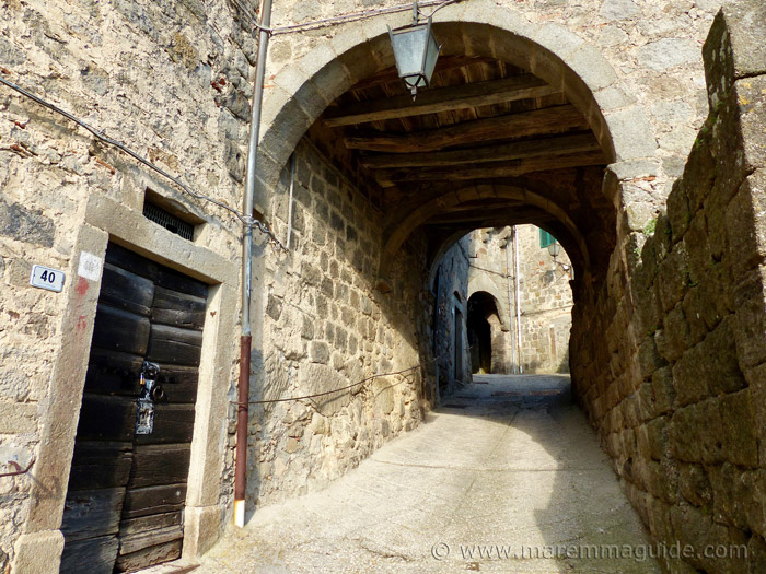 Santa Fiora Tuscany Italy.