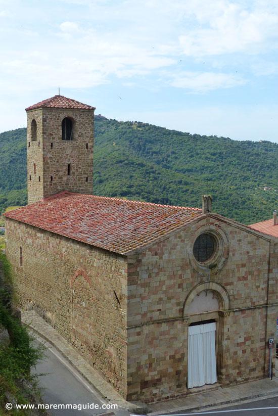 Pieve di Santa Maria Assunta Buriano Tuscany