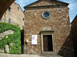 Chiesa di Santa Maria Assunta a Tatti, Maremma Italy