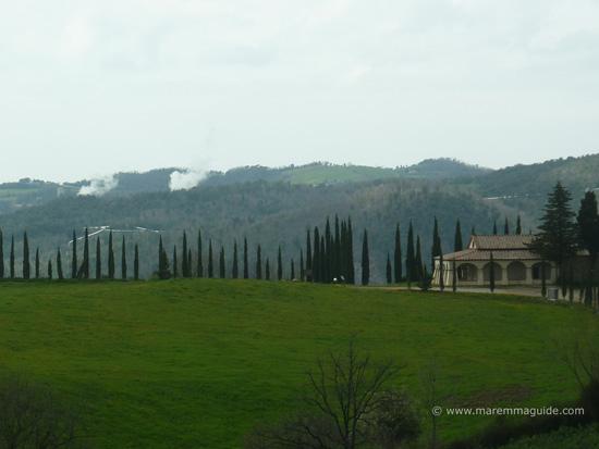 Santuario della Madonna del Libro, Leccia, Sasso Pisano Maremma Tuscany Italy
