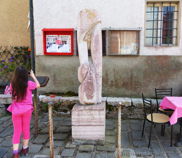 Sassetta Simposio di Scultura: Germinazione by Nichita Costinel Romica