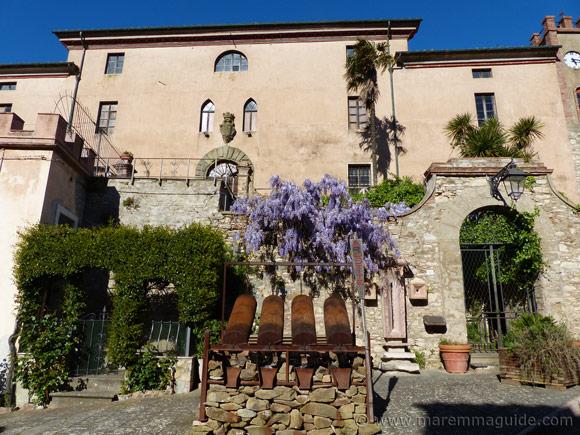 Palazzo Ramirez de Montalvo in Sassetta Tuscany