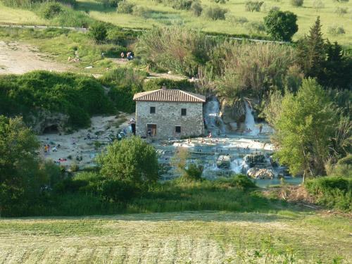 Saturnia Thermal Springs: Terme di Saturnia Maremma Tuscany Italy