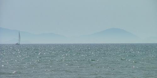 Italy seascape: Puntone Maremma