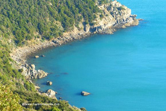 Sceret Tuscany beach Italy