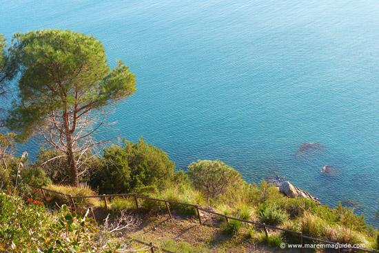 Maremma coast between Punta Ala and Castiglione della Pescaia