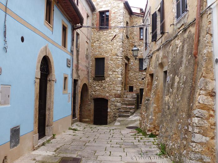 Semproniano Tuscany Italy