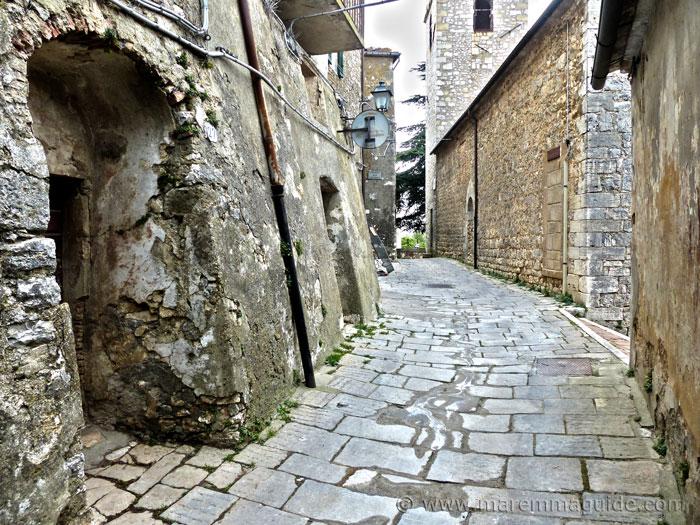 Semproniano Tuscany: Via degli Aldobrandeschi