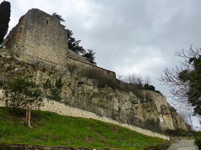 Semproniano Rocca Aldobrandesca castle