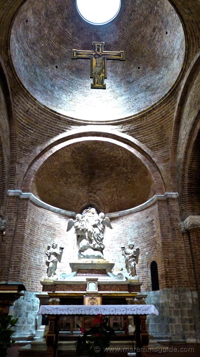 Siena Contrada Priora della Civetta church.