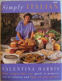 Simply Italian cook book by Valentina Harris