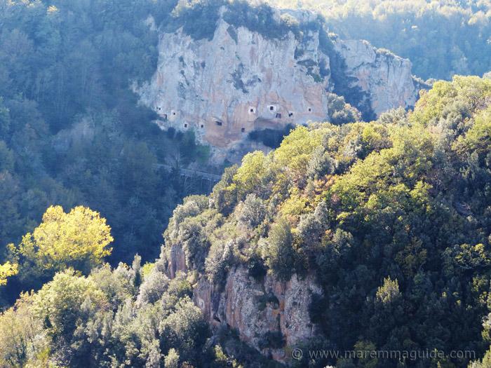 The Colombaie at Sorano Tuscany