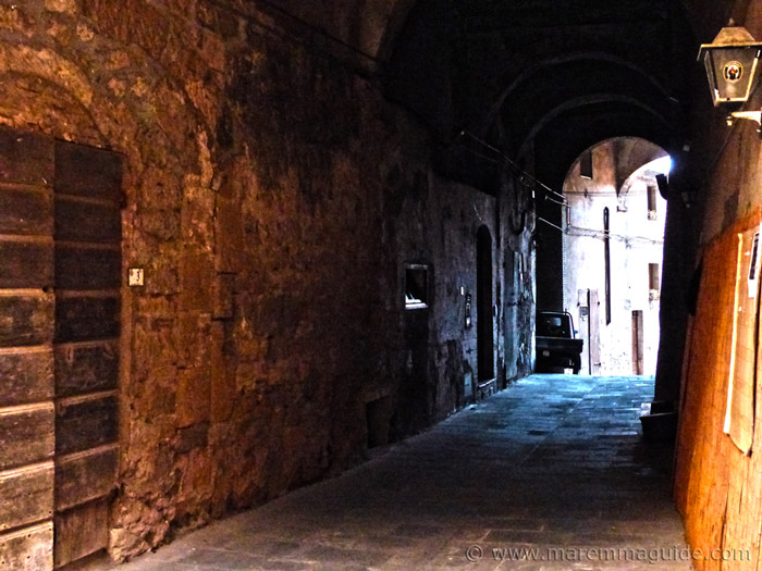 Sorano Tuscany tour.