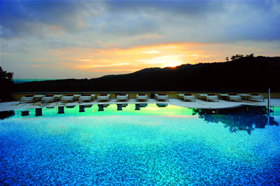Spa in Tuscany: Petriolo Spa Resort