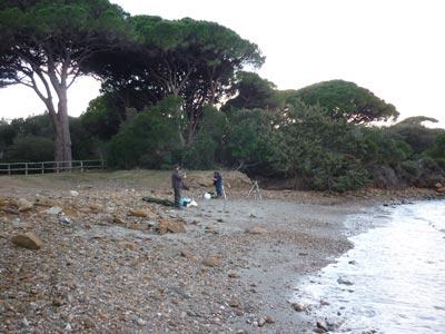 Spiagga Barbiere: Punta Ala beaches Maremma Tuscany Italy