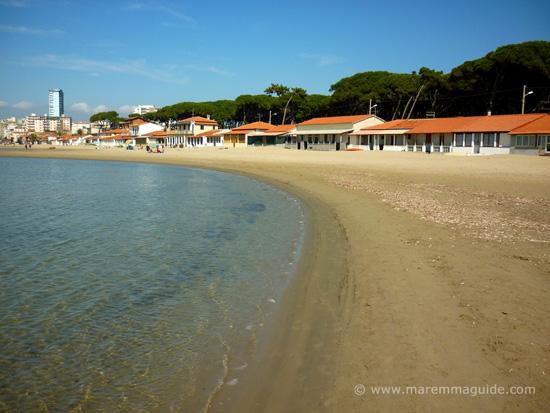 Spiaggia di Levante beach Follonica Tuscany