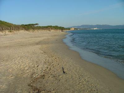 Spiaggia Perelli at Torre del Sale beach Maremma Tuscany Italy