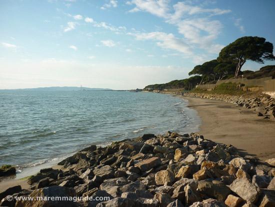 Spiaggia Ponente Follonica beaches Maremma Tuscany Italy