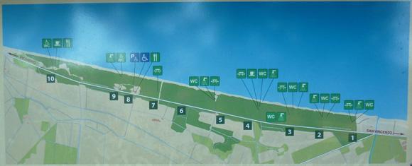 San Vincenzo Spiaggia Rimigliano map