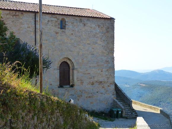 Sticciano Chiesa della Santissima Concezione in Maremma Tuscany