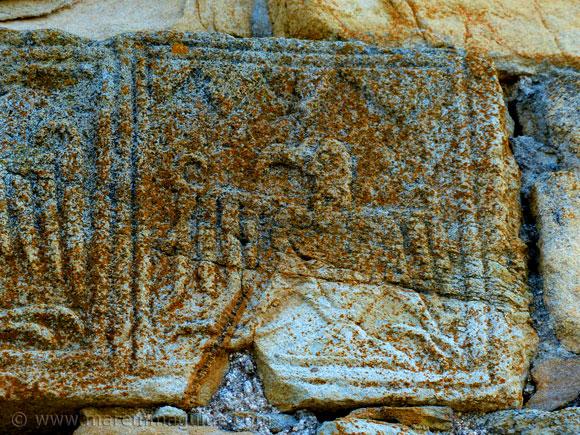 Sticciano church stone eagle