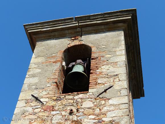 Pieve di Santa Mustiola bell tower Sticciano