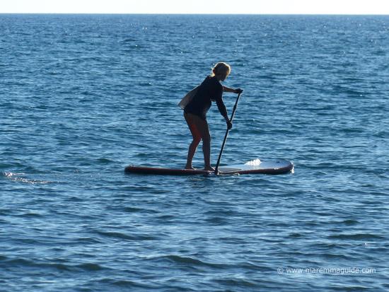 SUP boarding in Maremma Tuscany