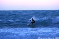 Surfing in Rosignano-Solvay, Castiglioncello, Maremma