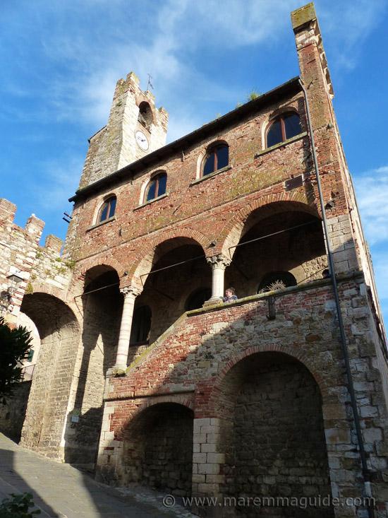 Suvereto Tuscany: Palazzo Communale