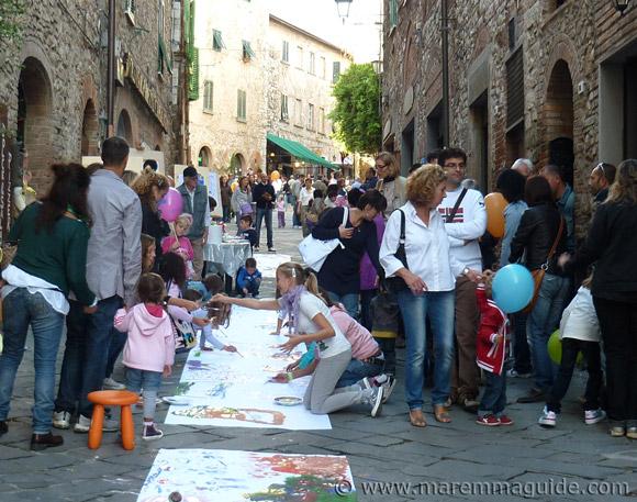 Suvereto Borgo dei Ragazzi event.