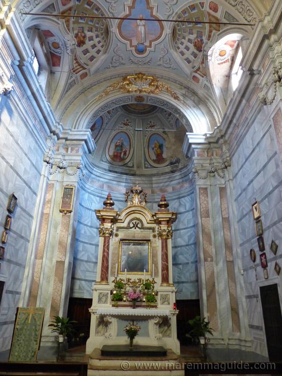 Chiesa della Madonna di Sopra la Porta, Suvereto.