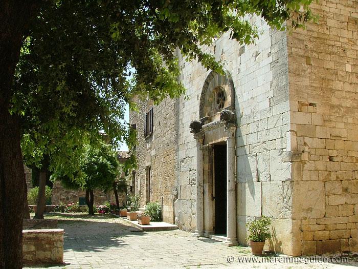 Suvereto: Chiesa di San Giusto Vescovo.
