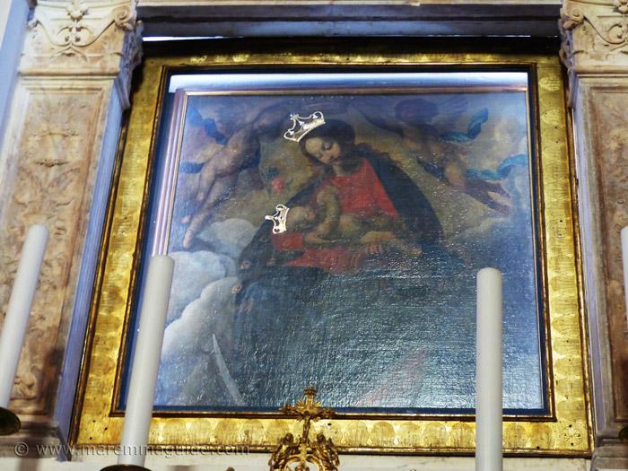 Suvereto Madonna Immaculata, Francesco Vanni