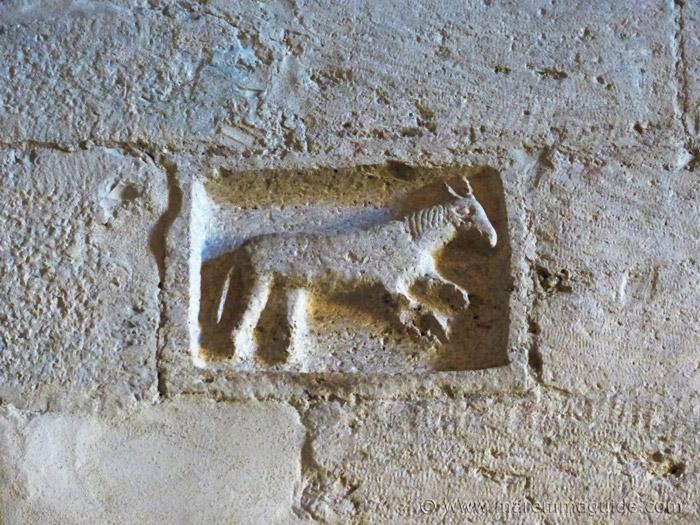 Zoomorphic carving, Pieve di San Giusto, Suvereto.