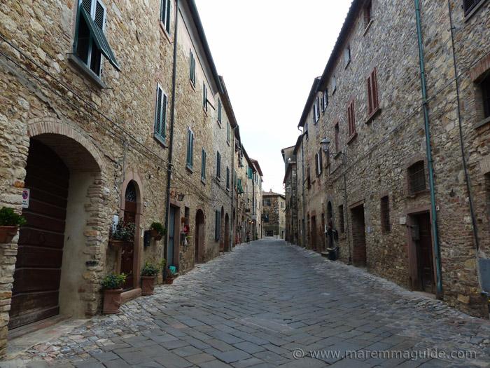 Via Magenta Suvereto Tuscany.