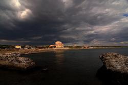 Tagliata beach Ansedonia Maremma Italy