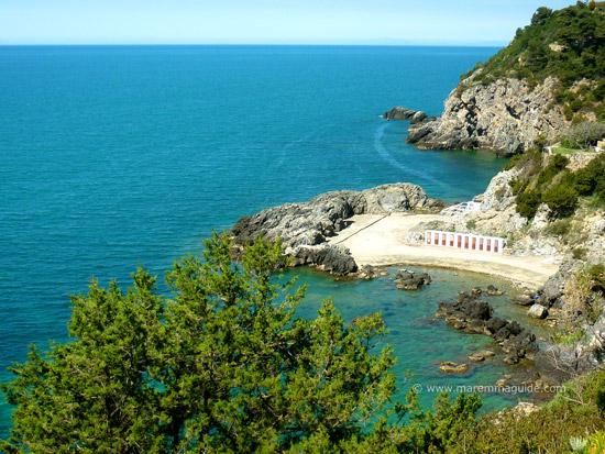 Talamone Bagno delle Donne spiaggia Maremma Tuscany