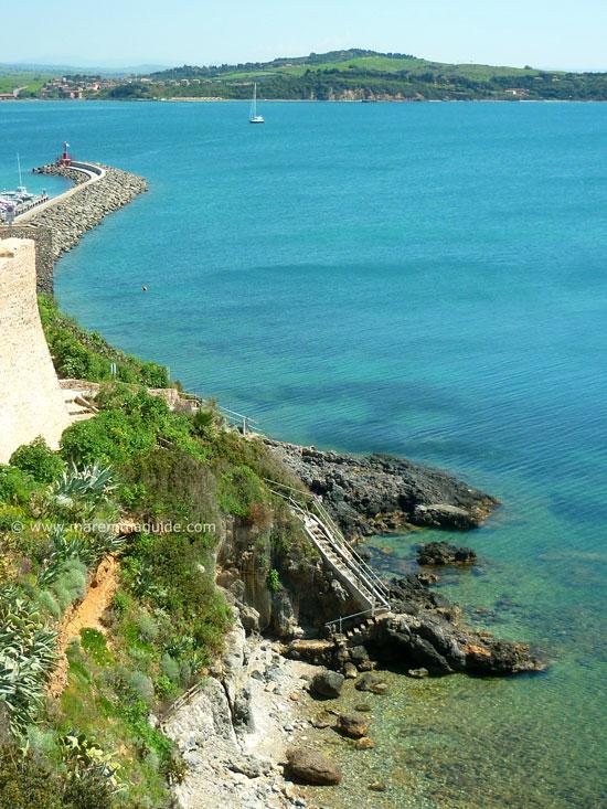 Talamone villa beach, Maremma Tuscany