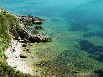 Talamone beach