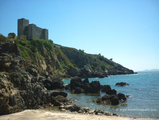Talamone beaches Italy